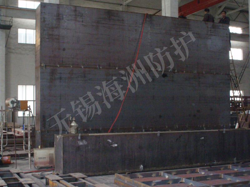 混凝土防护门钢板的作用是什么?